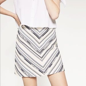 Zara Jacquard Skirt